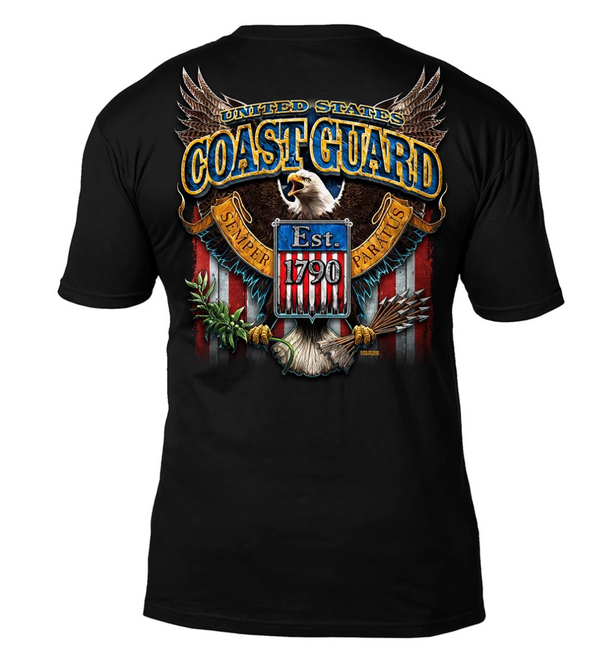 US Coast Guard 'Fighting Eagle'  T-Shirt