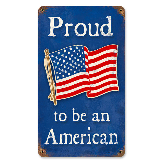 PROUD  AMERICAN   SIGN