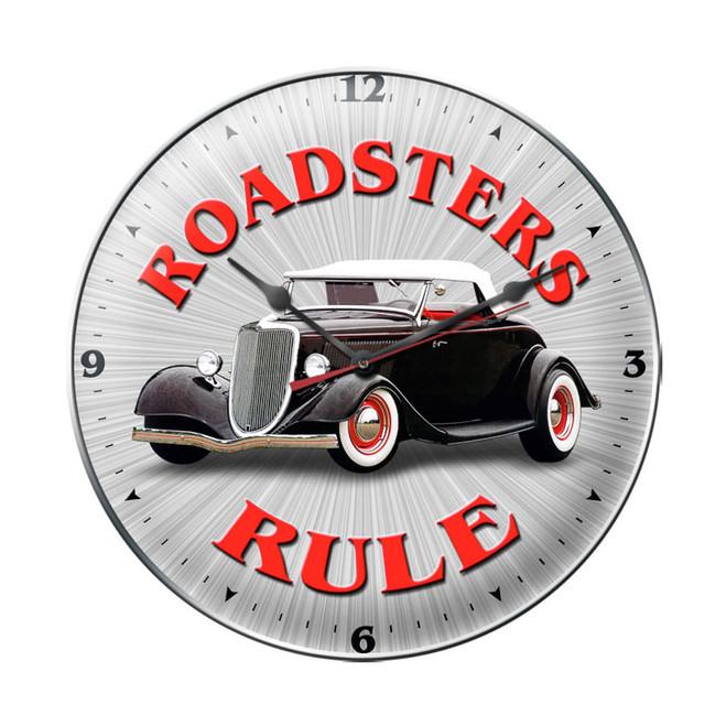 """""""ROADSTERS  RULE """"  CLOCK"""