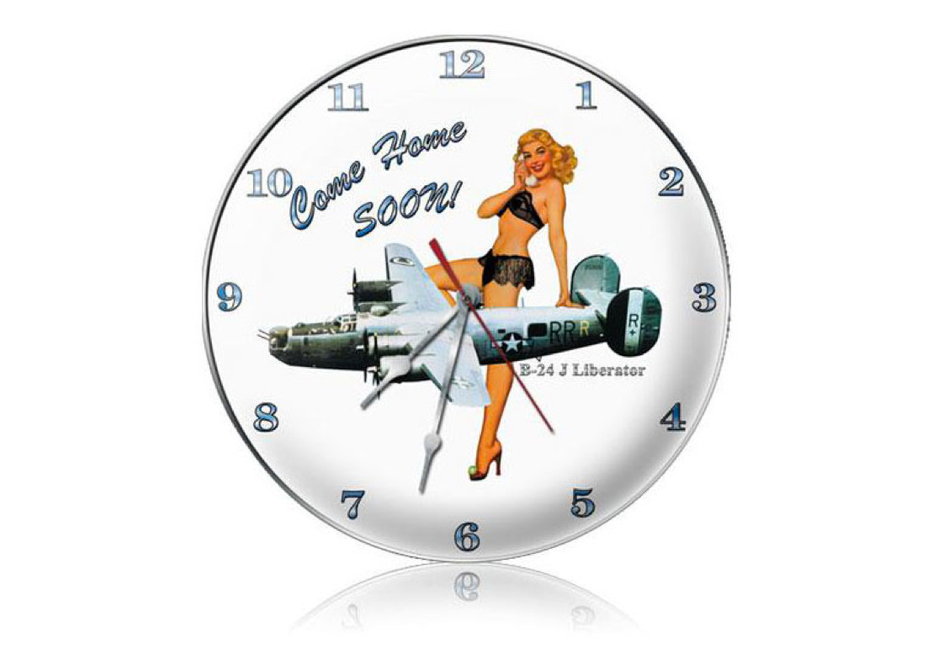 """COME  HOME  SOON ""  CLOCK"
