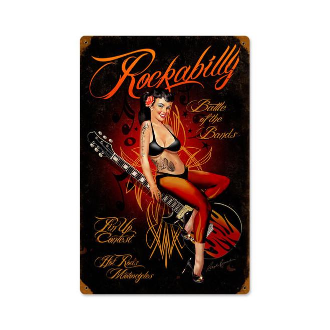 """""""ROCKABILLY""""  VINTAGE SIGN"""