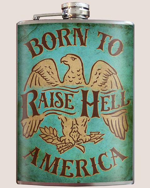 Born to Raise Hell - Flask