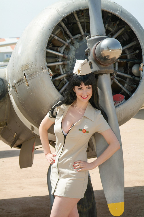 Propeller Pin-Up Poster