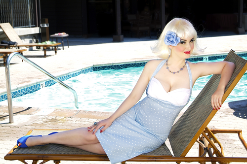 Staying Cool Pin-Up
