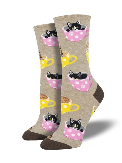 Cat-Finated Women's Socks