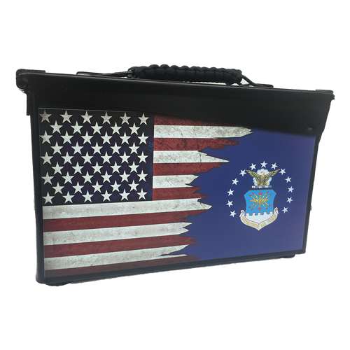 U.S. AIR FORCE--PERSONALIZED CAN--30 CAL.