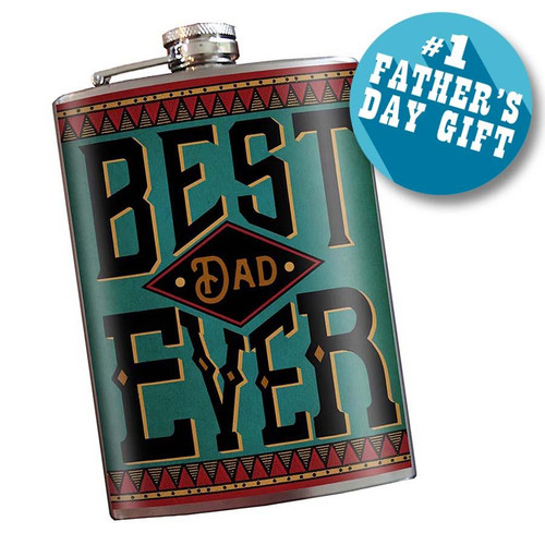 BEST DAD EVER--FLASK........................................( limited edition )