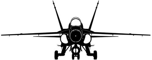F/A-18 Hornet  Steel Cut-Out