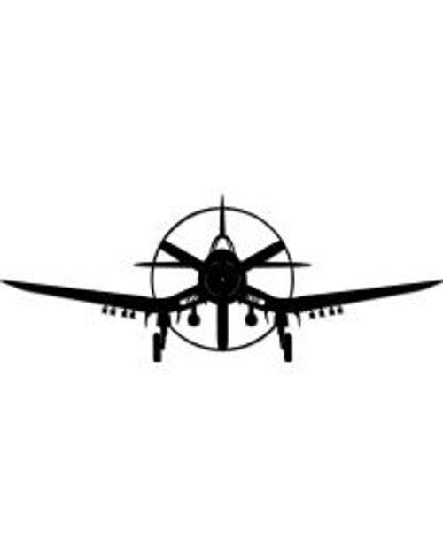 Corsair Plane Steel Cut-Out