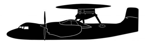 E-2 Hawkeye Steel Cut-Out