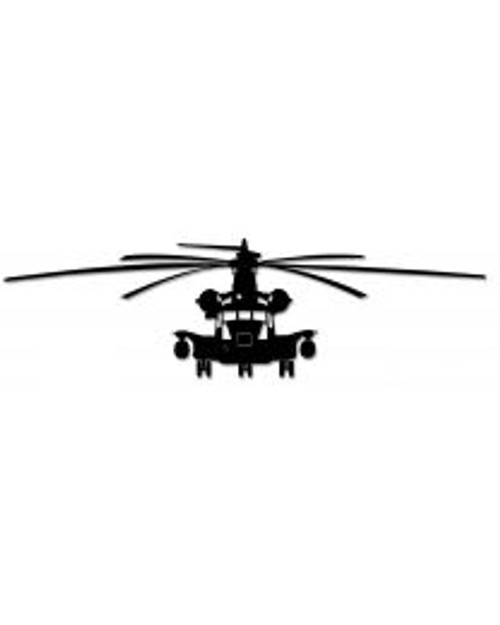H-53 Helicopter Steel Cut-Out