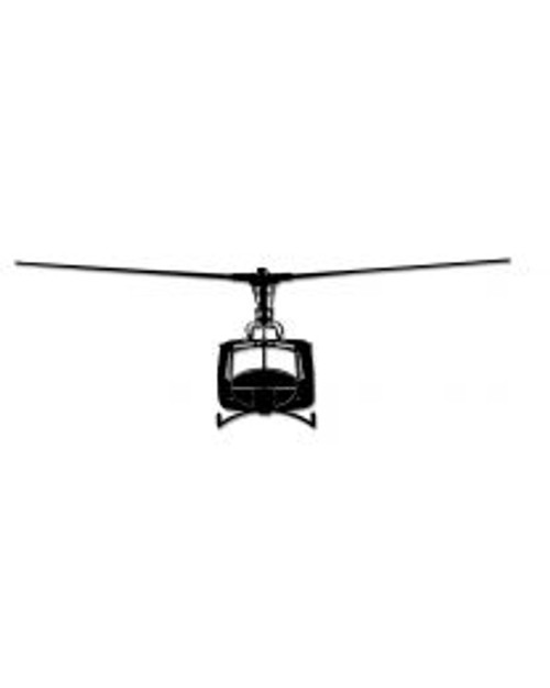 UH-1 Huey Steel Cut-Out