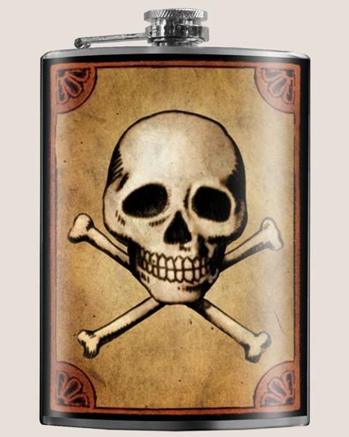 Skull & Bones - Flask