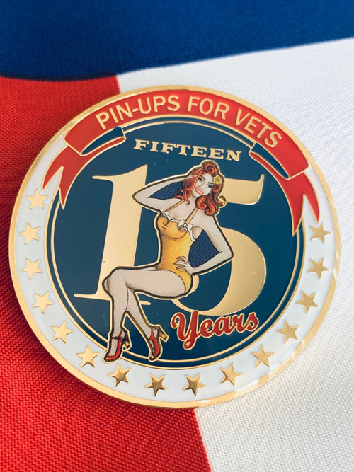 15th Year Anniversary Edition Challenge Coin