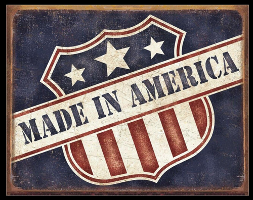 MADE  IN  AMERICA ----METAL SIGN