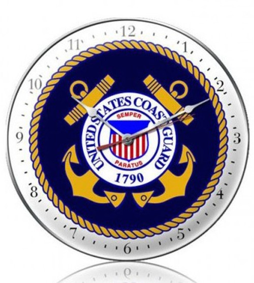 """US  Coast  Guard""  CLOCK"