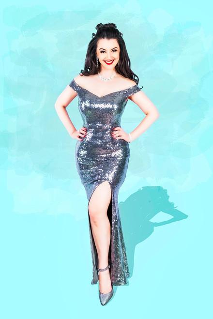 Sparkly Gina
