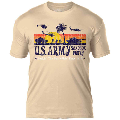 Army  'Sandbox Party'  T-Shirt
