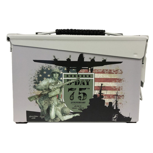 D-Day  75th Anniversary  Limited Edition Metal Box