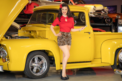 Keep On Truckin' Pin-Up Poster