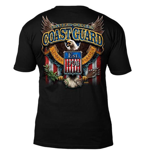 US Coast Guard 'Fighting Eagle'  T-Shirt