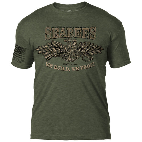 SEABEES--WE FIGHT, WE BUILD--SHIRT