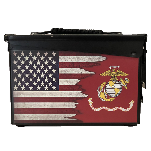 MARINE CORPS--- PERSONALIZED CAN--30 cal