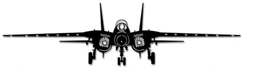 F-14 Tomcat Steel Cut-out