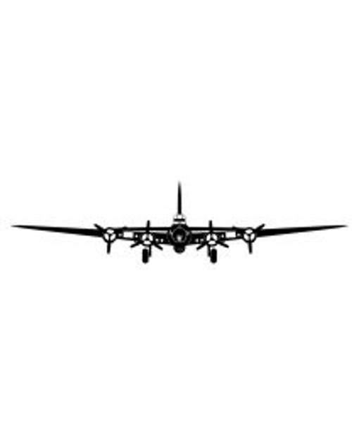 B-17 Flying Fortress Steel Cut-Out