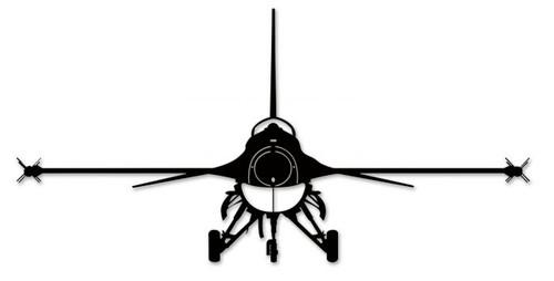 F-16 Falcon Steel Cut-Out