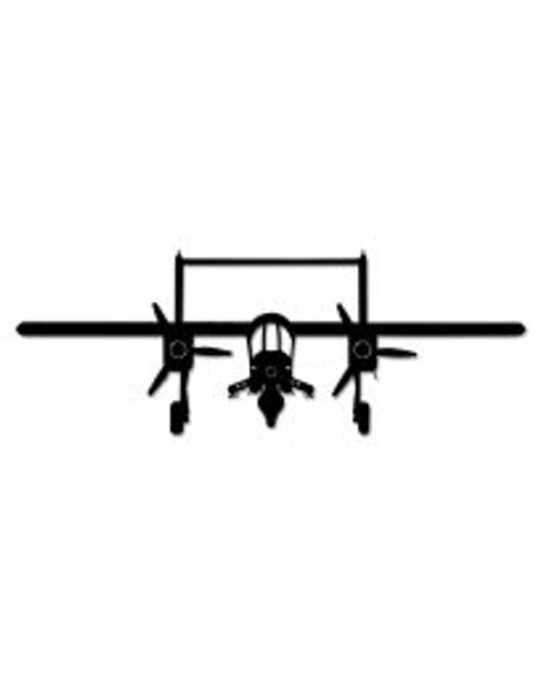 OV-10 Bronco Steel Cut-Out