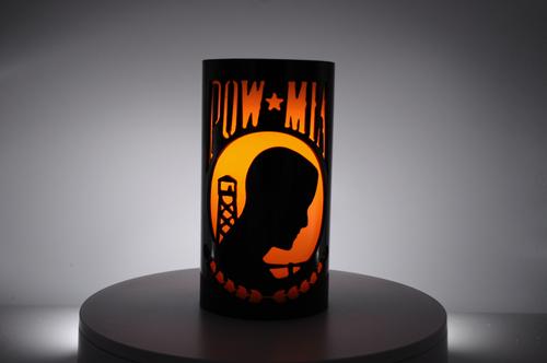POW/MIA - Metal Candle Holder Luminary
