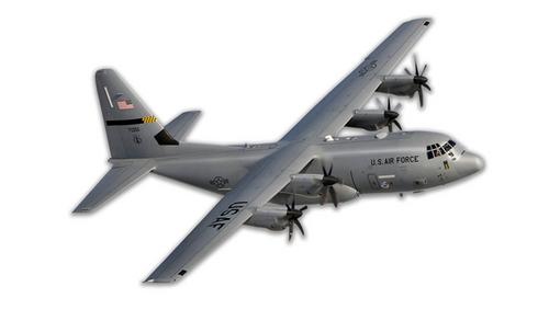C-130 Hercules  Metal Cut-Out