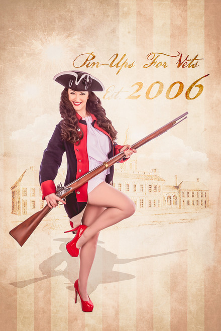 Patriot Pin-Up Poster