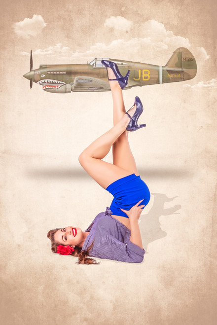 Legs Up With Jennifer Poster