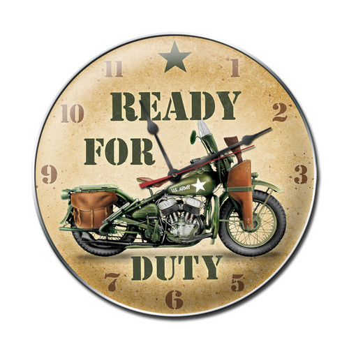 READY  FOR  DUTY  CLOCK