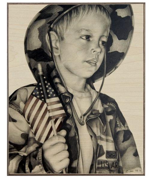MEMORIAL ---Birch Wood Print