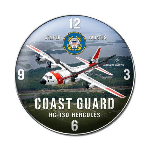 COAST  GUARD  C-130   CLOCK