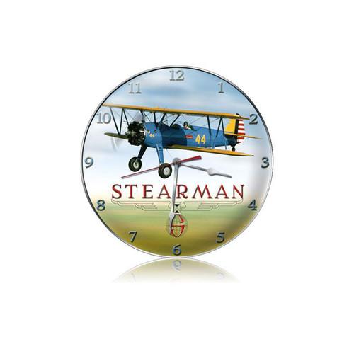 """STEARMAN""  VINTAGE  CLOCK"