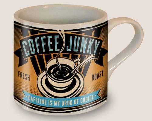 """COFFEE  JUNKY""  MUG"