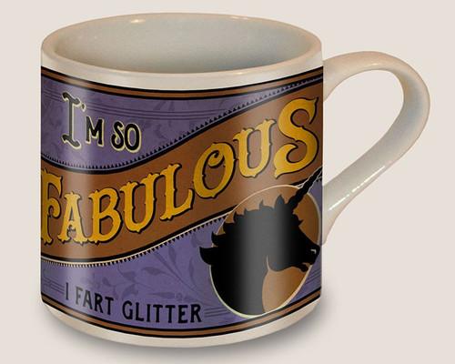"""FABULOUS""  MUG"