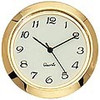 1-7/16 (36mm) Ivory Face Arabic Glass Lens Clock Insert/Fit Up