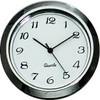 Gun Metal Arabic 1-7/16 (36mm) Clock Fit-Up Insert