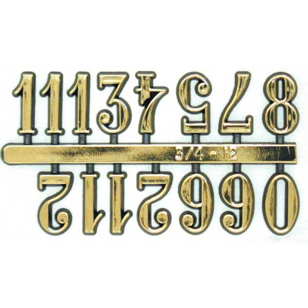 Arabic Clock Numbers Self Adhesive