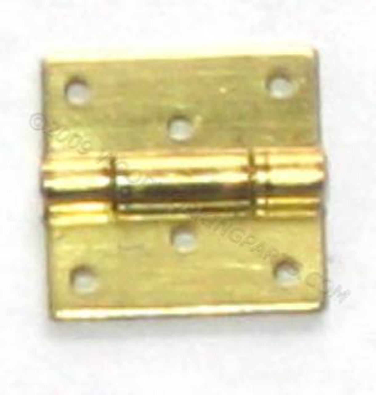 Solid Brass 3/8x3/8 Hinge