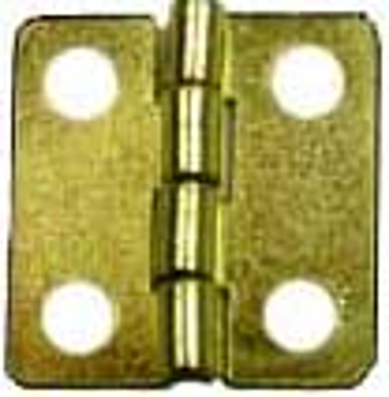 1/2x1/2 Brass Plated Hinge