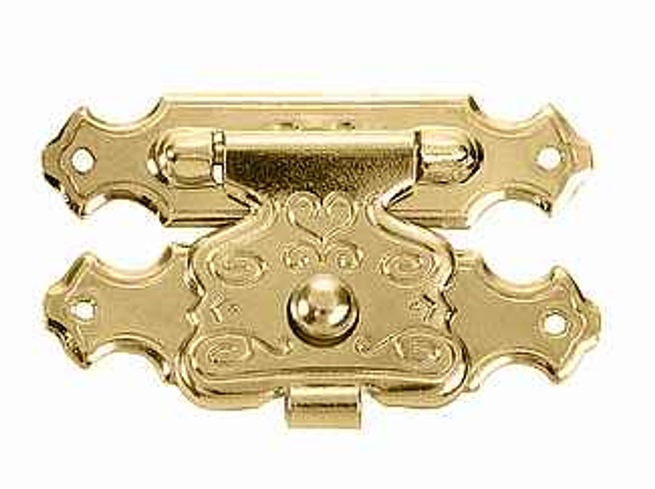 Decorative Box Latch/Catch Brass 1 x 5/8 Brass