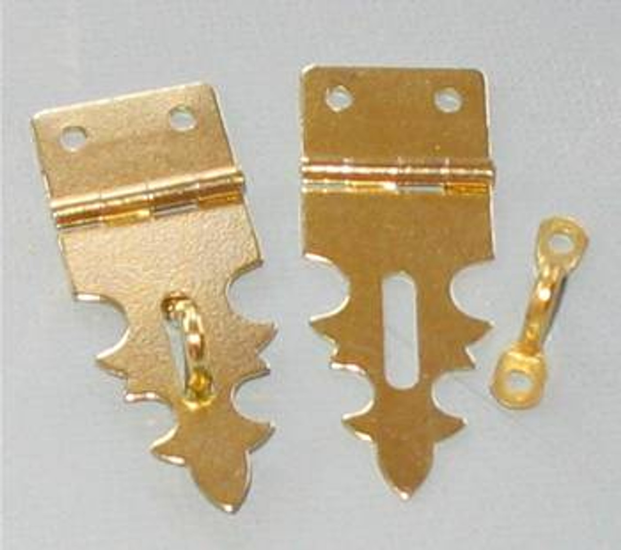Hasp For Padlock Brass Plated