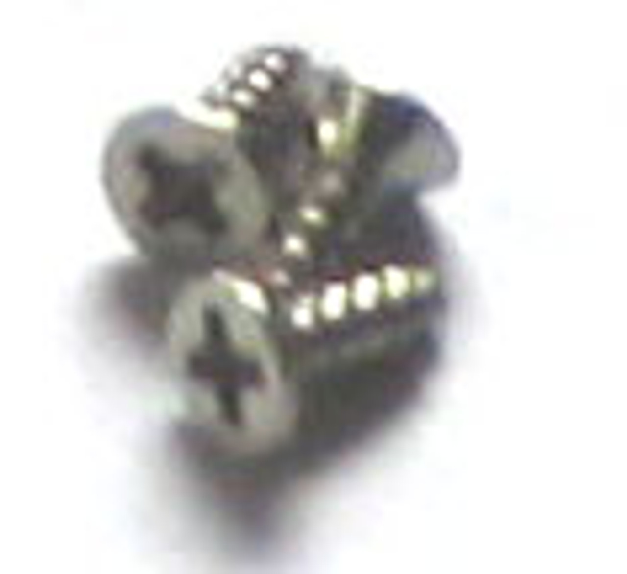 #2 Nickel Plated Phillips Flat Head Screws