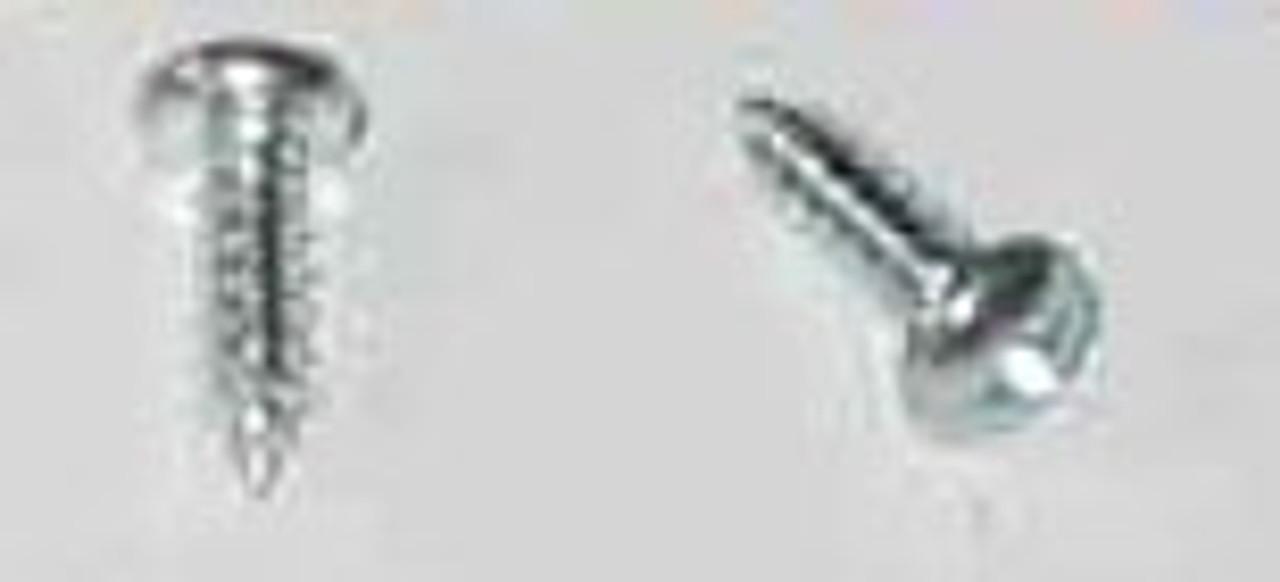 "4 x 3/8"" Phillips Pan Head Zinc Plated Screw Phillips head"